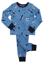 Load image into Gallery viewer, Boys Space Print Slim Fit Pyjamas - ages 1 to 10 years