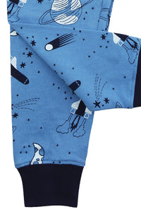 Space Rocket Slim Fit Pyjamas for 1 to 10 years - MV 1328