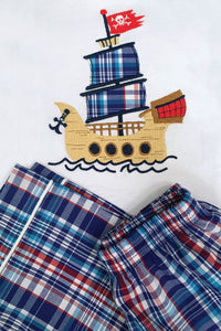 Galleon Pirate ship Pyjamas for Boys