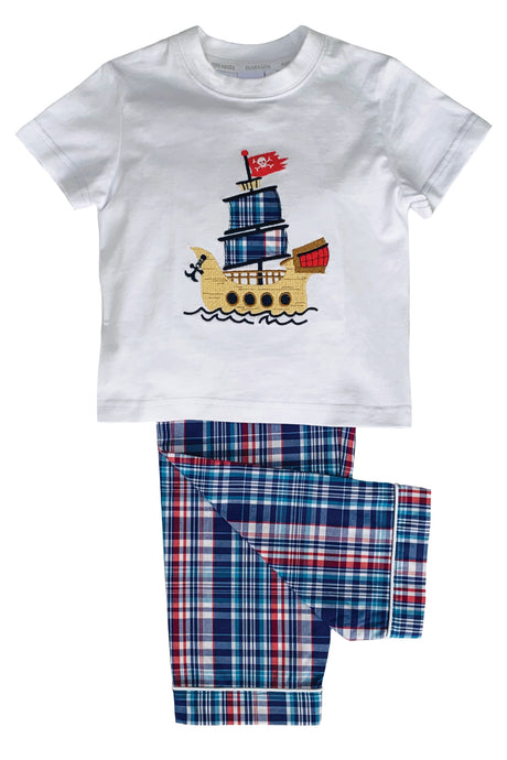 Galleon Pirate ship Pyjamas for Boys - Ages 1 to 10 years