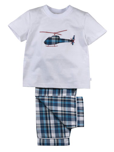 Summer Helicopter Pyjamas