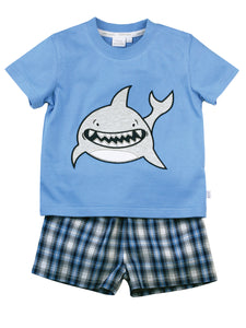 Shark cotton pyjamas