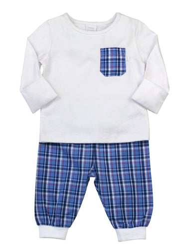 Baby boys cotton pyjamas