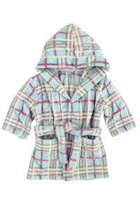 Super soft cuddle fleece Hooded Robe ages 1-8 years