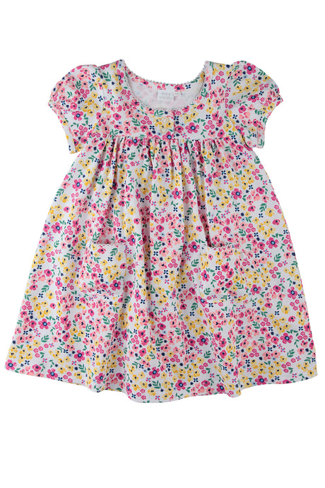 Summer flowers lounge Dress for Girls ages 1-8 years