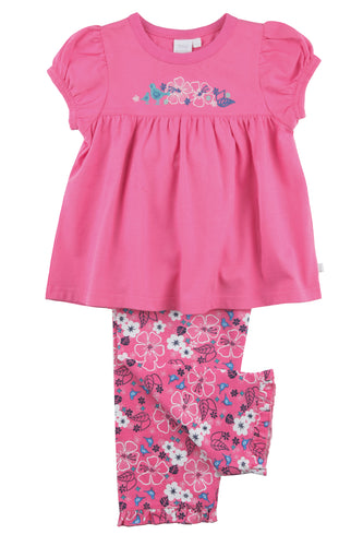 Girls Pyjamas in pink florals - MV 2302
