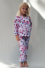 Load image into Gallery viewer, Girls Rose Traditional Pyjamas