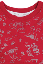 Load image into Gallery viewer, Girls Glitter Print Snuggle Fit PJs