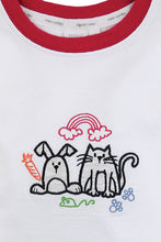 Load image into Gallery viewer, Girls Bunny & Cat Slim Fit Pyjamas - ages 1 to 10 years