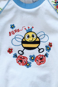 Buzzy Bee Pyjamas for Girls -  Ages 1 to 10 Years