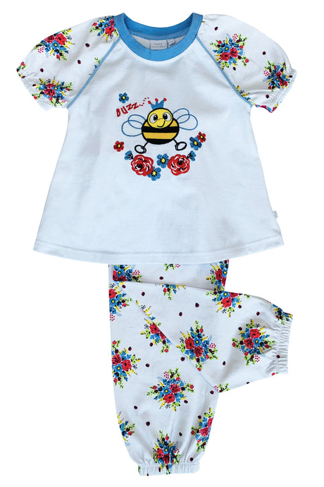 Buzzy Bee Pyjamas for Girls