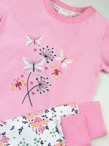 Pretty in Pink Skinny Fit pyjamas