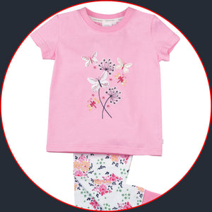 Summer Bouquet Skinny Fit Pyjamas