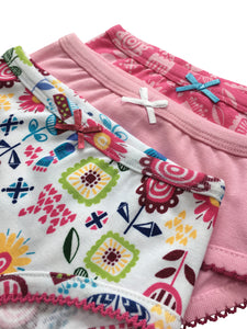 Pack of 3 Girls briefs - sizes 3-10 years