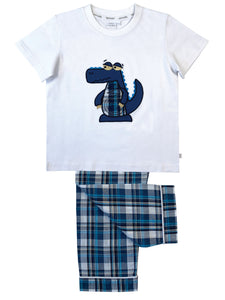 Summer Crocodile Pyjamas