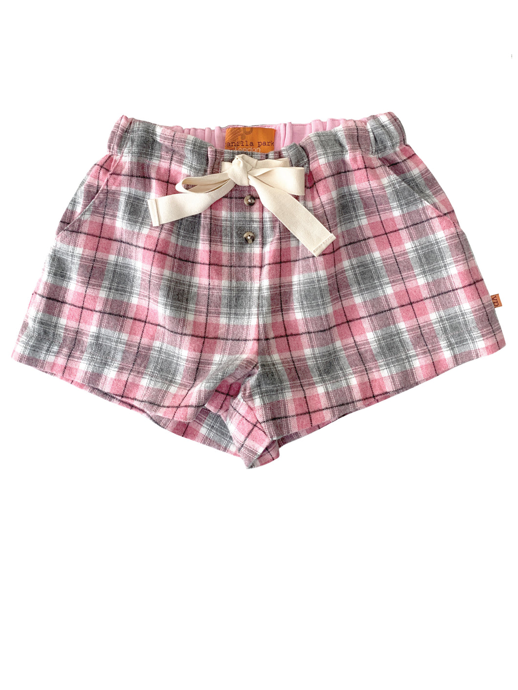 EVA Girls Check PJ short