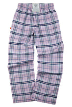 Load image into Gallery viewer, FAIRFORD Girls Lilac Check PJ trousers for ages 9-16 years