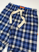 Load image into Gallery viewer, Unisex Blue Check Jogger Style lounge Pants