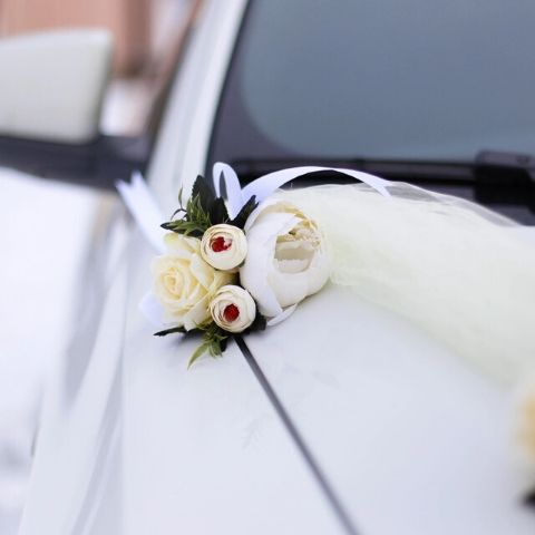 champetre voiture mariage
