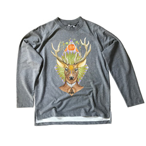 Deer Organic Sweatshirt (Made to Order)