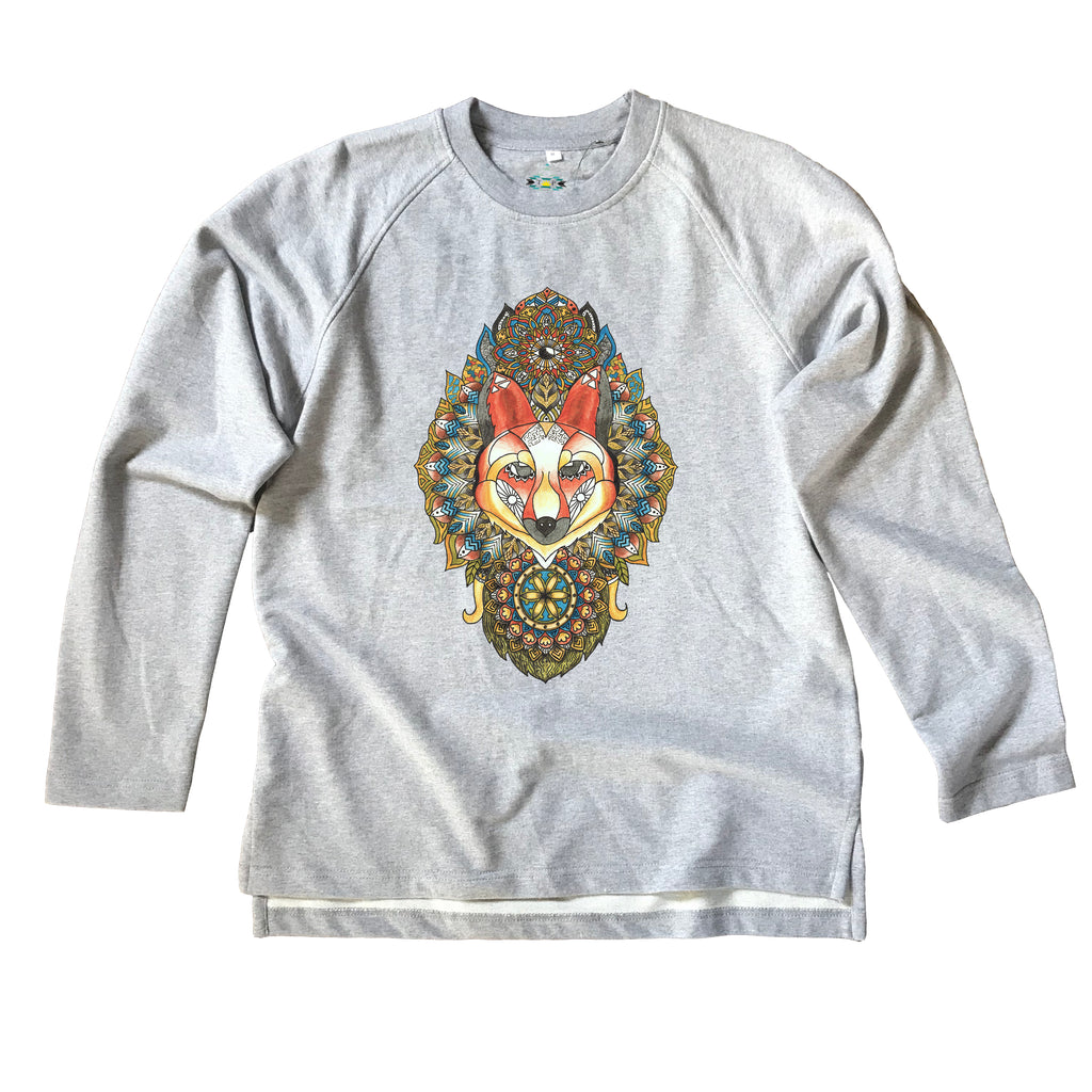 Fox Organic Sweatshirt (Made to Order)