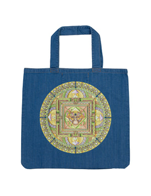 Monkey Organic Denim Tote