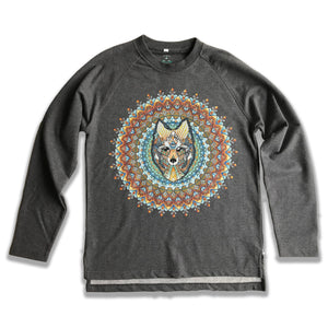 Wolf Organic Sweatshirt (Made to Order)