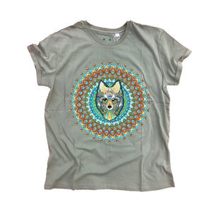 Wolf Organic T-Shirt (Made to Order)