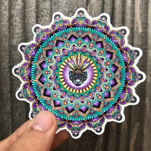 Puma Mandala Sticker