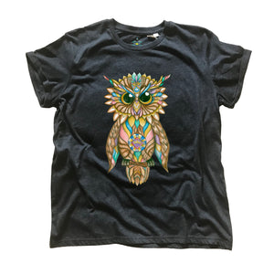 Owl Organic T-Shirt (Made to Order)