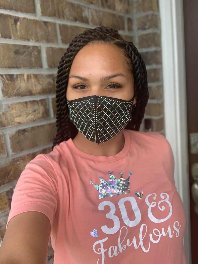 Bling Face Mask