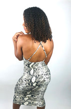 "Load image into Gallery viewer, ""Summer"" Snakeskin Dress"
