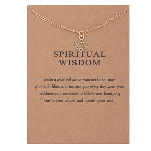 "PATCO ""SPIRITUAL WISDOM"" NECKLACE"
