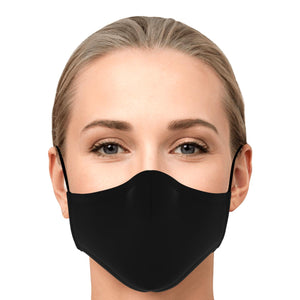 Face Mask with 2 x PM 2.5 filters - Black