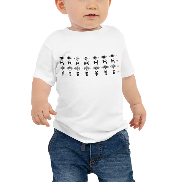 Guanche Symbols Baby Jersey Short Sleeve Tee
