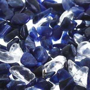 awareness tritan - sodalite and rock crystal