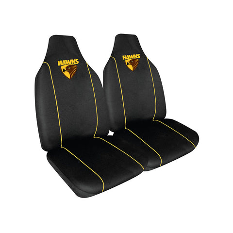 HAWTHORN AFL CAR SEAT COVERS