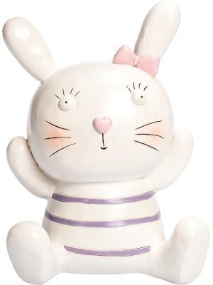 BUNNY & FRIENDS MONEY BOX