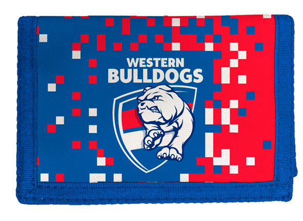 WESTERN BULLDOGS AFL SUPPORTER WALLET