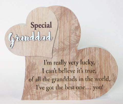 """SPECIAL GRANDDAD"" FROM MY HEART SENTIMENT BLOCK"