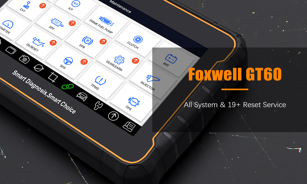 Foxwell GT60 features