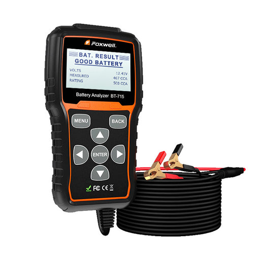 FOXWELL BT715 12V 24V Automotive Battery Tester Cranking Charging System Analyzer - Foxwell Online