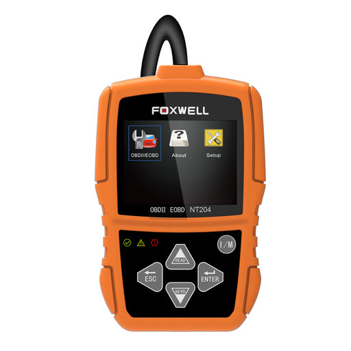 FOXWELL NT204 Car OBDII Code Reader Check Engine Light Scan Tool Emission Analyzer - Foxwell Online