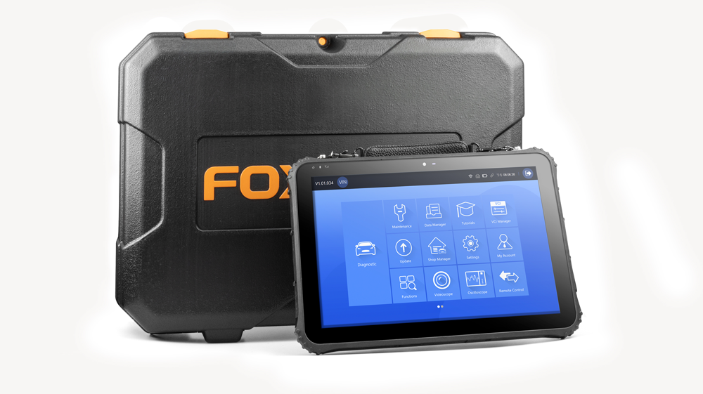 【US ONLY】Foxwell GT90 Max 12.2 inch Windows Tablet Automotive Scan Tool Diagnostic Scanner with ECU Coding, Bi-Directional Control, Brake Bleed, Oil Reset, ABS, SRS, DPF, EPB