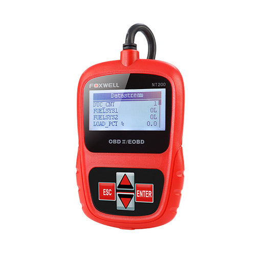 FOXWELL NT200E OBD2 Code Reader Engine Scanner Automotive Emission Tester - Foxwell Online