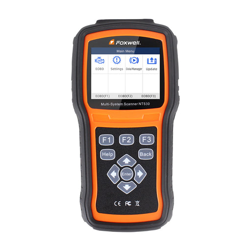 Foxwell NT530 Multi Brand Full System Diagnostic Scanner Works on Latest 2018/2019 - Foxwell Online