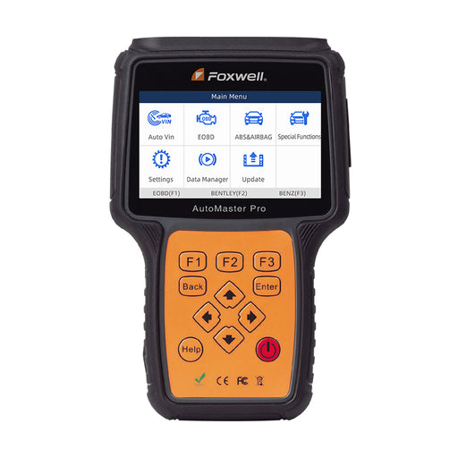 Foxwell NT680 All Systems Diagnostic Scanner with Oil Light Service Reset EPB Functions - Foxwell Online