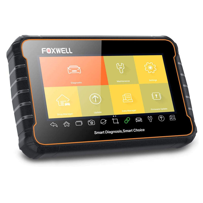 Main Picture Update Registration Foxwell GT60 Plus Bi-Directional OBD Android Tablet Scan Tool OE-Level Advanced All System Diagnostics with All Needed Service Functions ABS Auto Bleed TPMS Programming SAS BRT