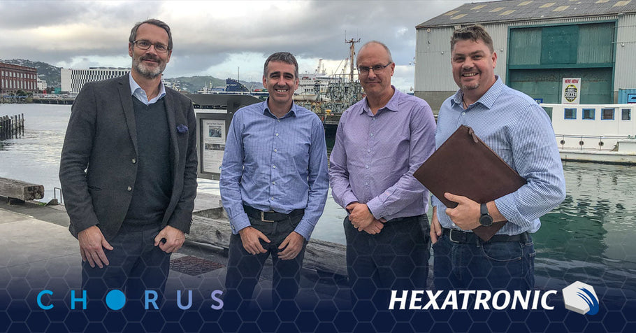 Hexatronic extends its strategic supply partnership with Chorus in signing a new 5 year supply agreement