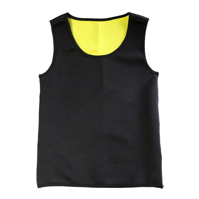 Slimming Belt Belly Men Slimming Vest Body Shaper Neoprene Abdomen Fat Burning Shaperwear Waist Sweat Corset Weight Dropship